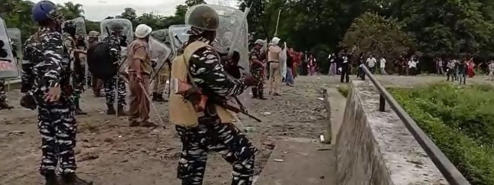 Earlier on October 26 this year, police personnel resorted to lathicharge and tear gas shells  to disperse irate students protesters in Arunachal Pradesh's Namsai district