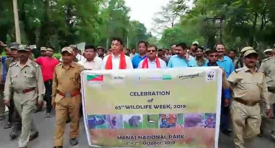The forest and tourism departments of BTC have been taking initiative for overall development of the Manas National Park, says Kampa Borgoyary
