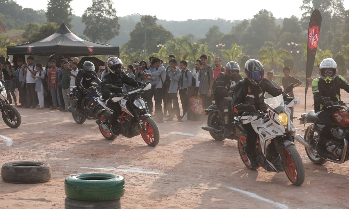 Assam bikers show how to have fun & ride safe, at the same time