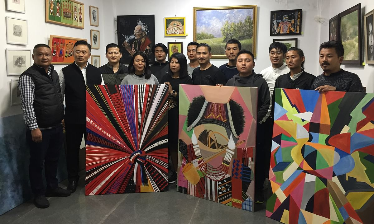 Naga artists leave Gallery of Contemporary Art camp with memories