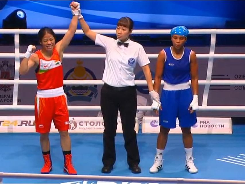 Mary Kom becomes only boxer to win 8 medals in world championships
