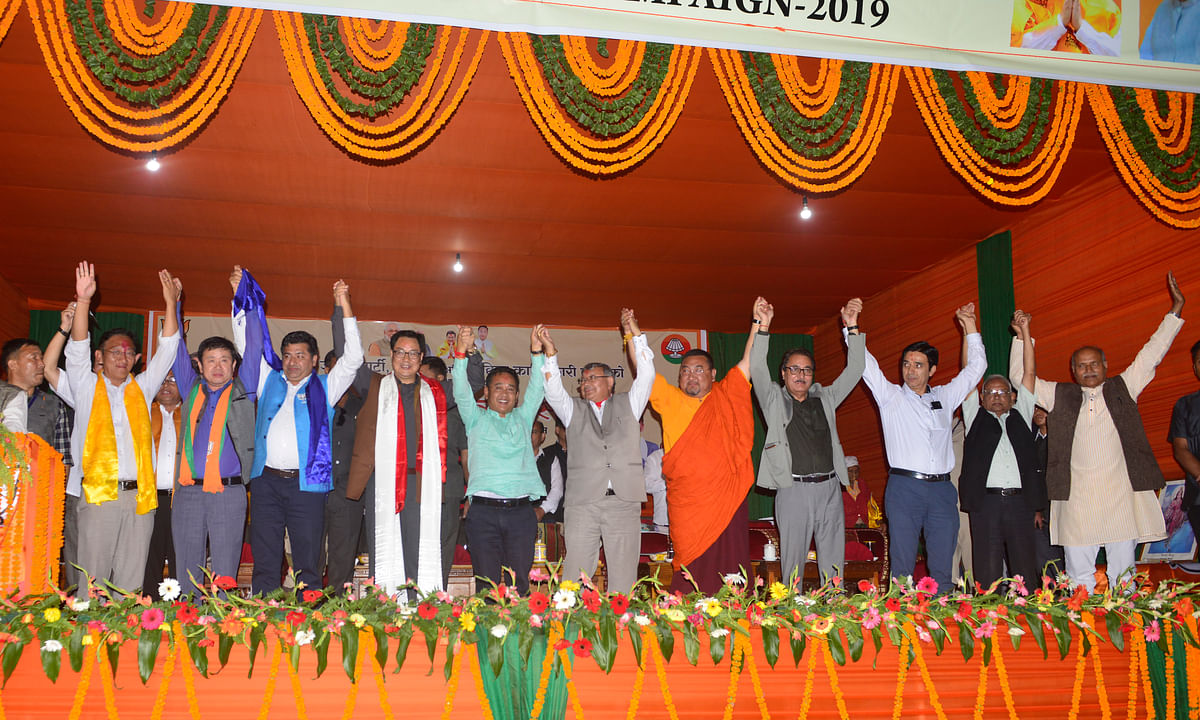BJP in Sikkim: From 0 to 12 in 5 months