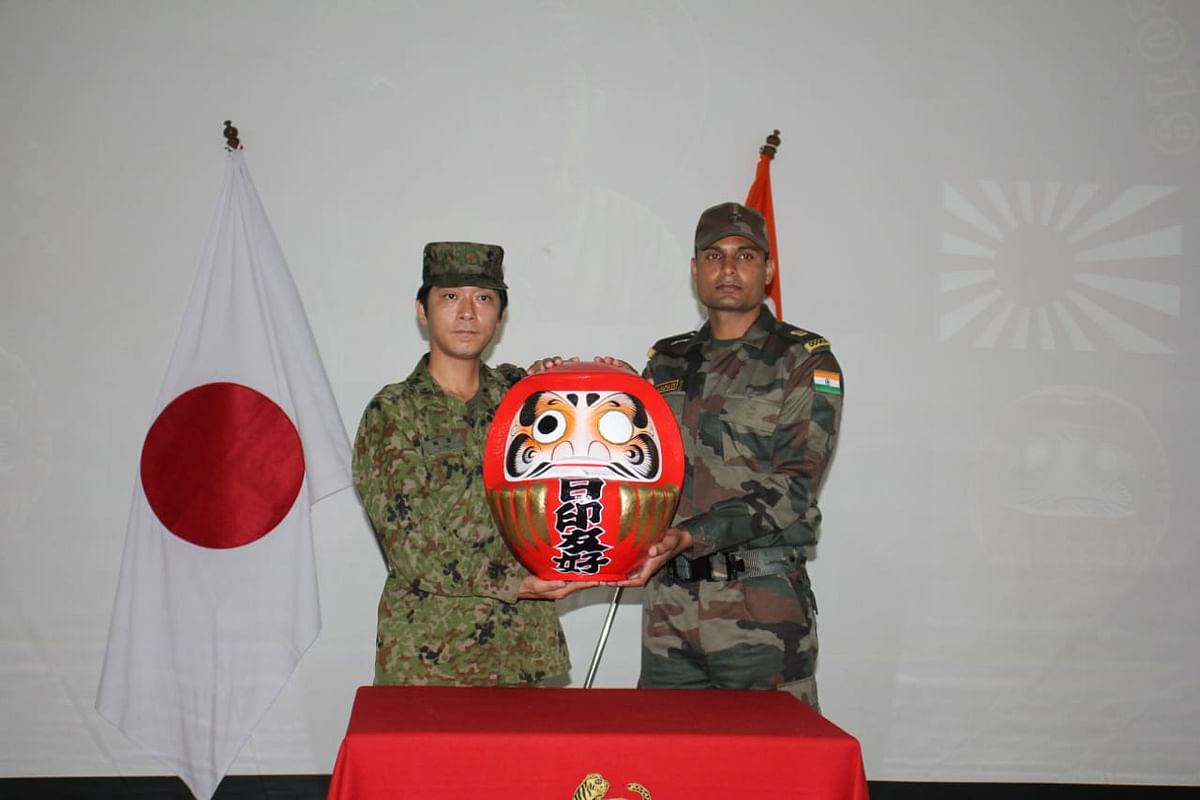India-Japan joint military exercise starts at Vairengte in Mizoram