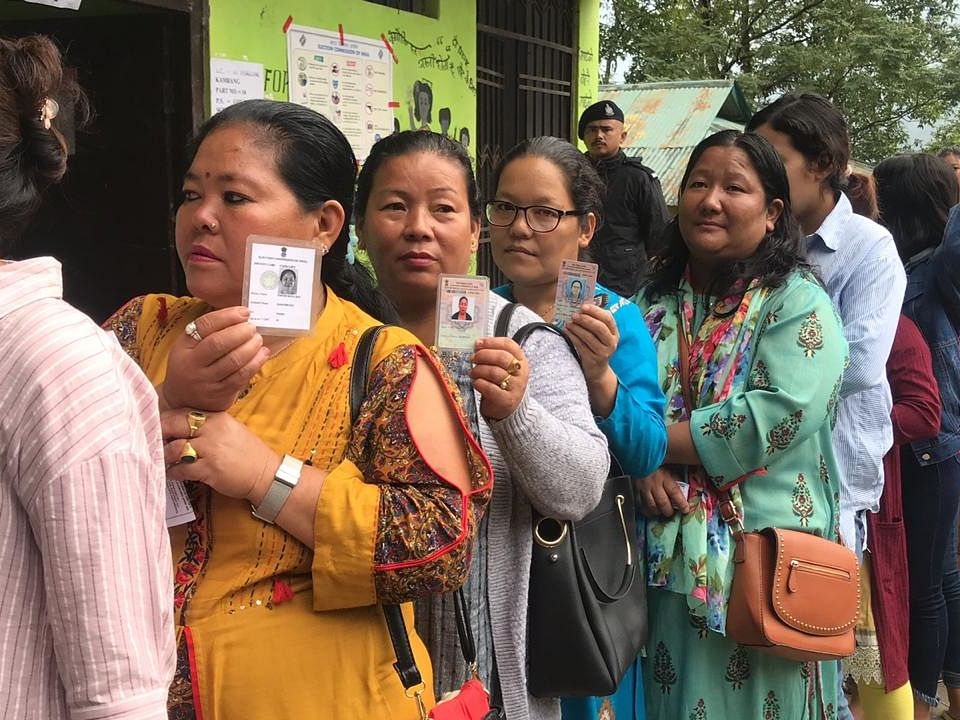 Sikkim by-elections record average voter turnout of 68%