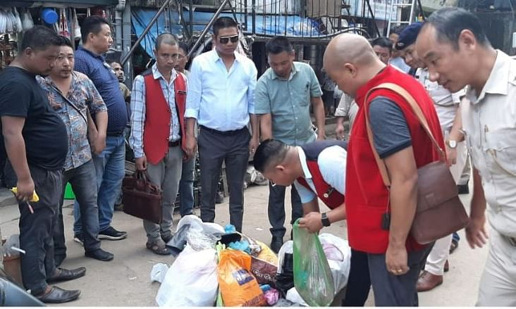 Nagaland: 40 kg banned single-use plastic items seized in Dimapur