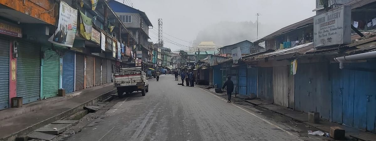 Schools, business establishments remained shut in Darjeeling in response to the 12-hour shutdown called by tea garden workers on Friday