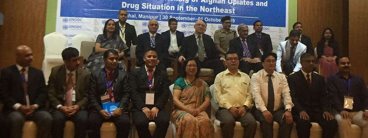 Two-day international conference on illicit trafficking of drugs in NE held in Imphal, Manipur