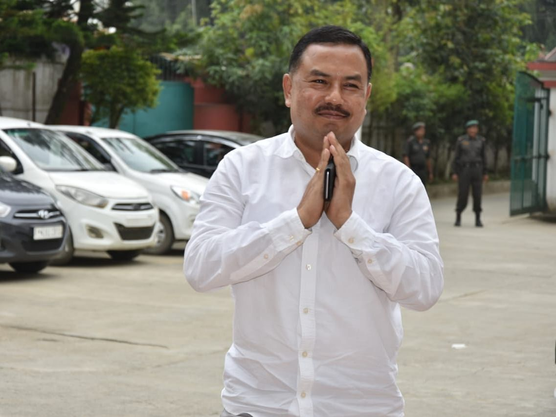 Moirangthem Okendra is new Congress president of Manipur