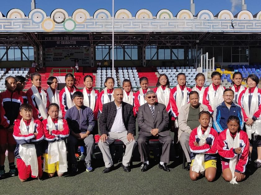 Sikkim girls soccer team to play at National School Games in Ajmer
