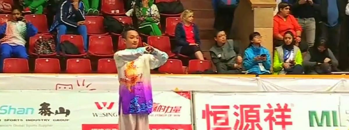 Sanma Brahma has participated and won medals in several state and national wushu championships