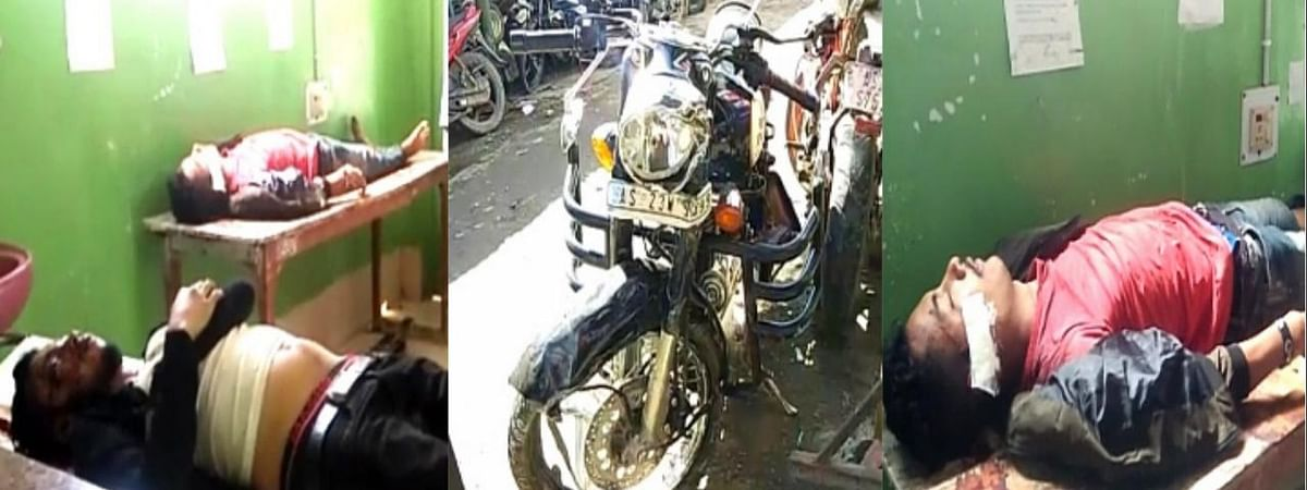 A Royal Enfield bike and a KTM motorcycle were involved in the accident