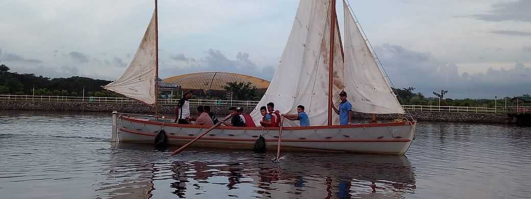 Three sturdy whaler sailing boats of the Naval NCC units will take part in the expedition