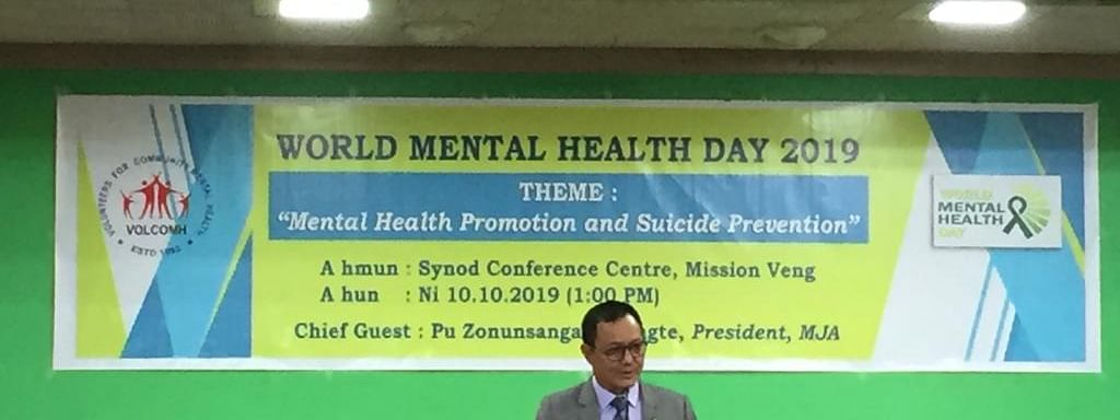 World Mental Health Day observed by VOLCOMH