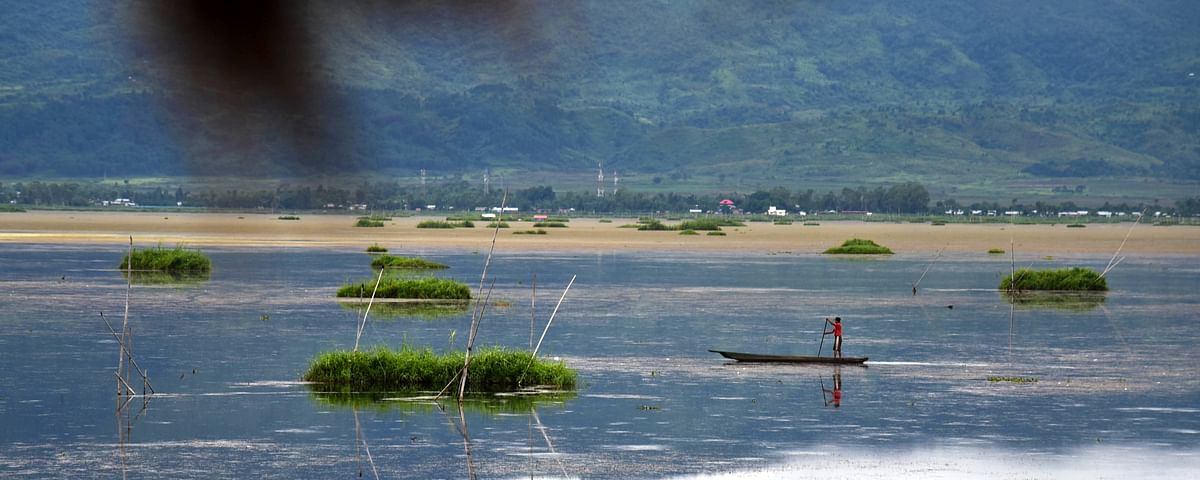 The 266-sq-km Loktak is Northeast India's largest freshwater lake and a Ramsar site of international importance
