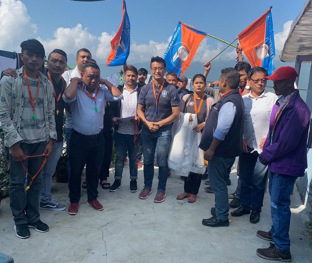 Former Indian footballer Bhaichung Bhutia from HSP expressed confidence of his party's victory in the forthcoming by-elections in Sikkim