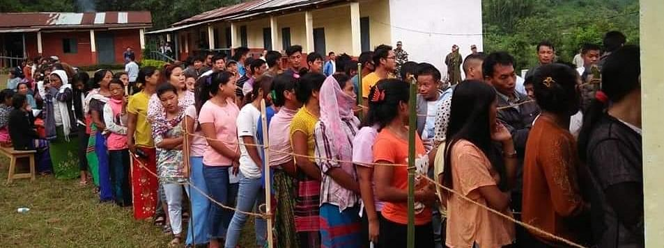 Arunachal Pradesh's Khonsa West constituency witnessed a straight contest between two independent candidates -- Chakat Aboh and Azet Hamtok