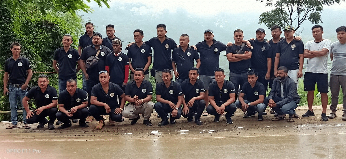 Members of Kohima-based adventure clubs — Aces High and Nagaland 4x4