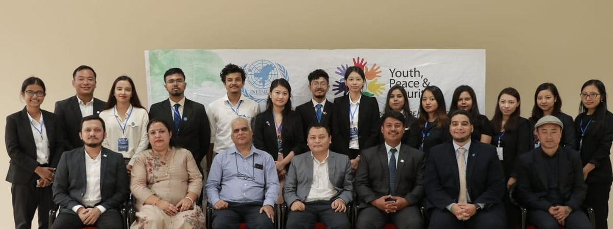 NEIMUN secretariats along with trainers and speakers