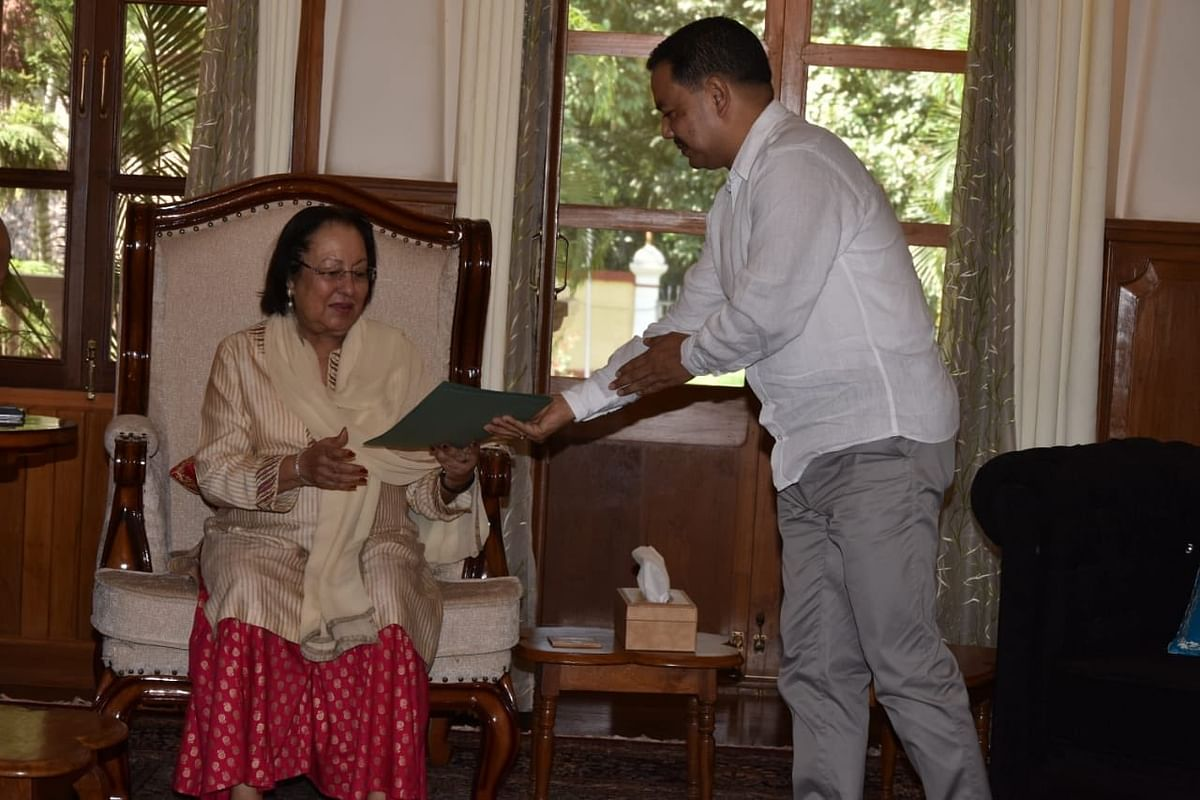 The Manipur state unit of Congress party also submitted a memorandum to PM, through state governor Najma Heptulla on Monday