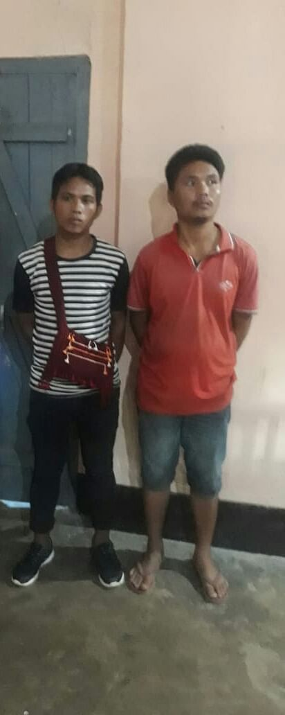 The two arrested UPLA cadres have been identified as Semson Taro and Mojari Rongphar, both from Karbi Anglong.