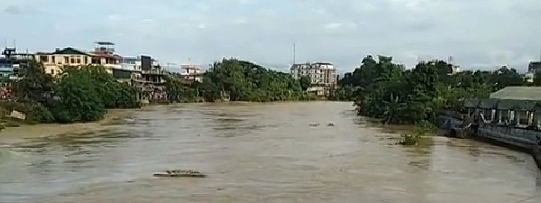 As per latest reports, nearly 13 villages of Dimapur are submerged under floodwaters