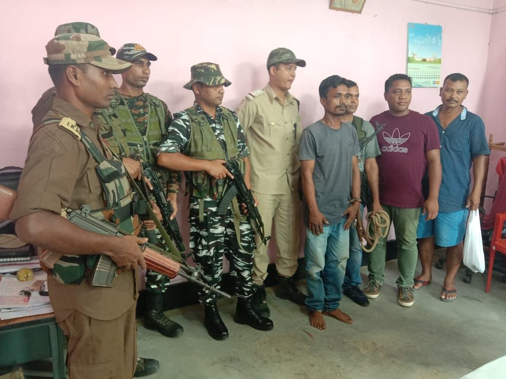 Assam: One DNLA militant & 2 UPLA linkmen nabbed in Karbi Anglong