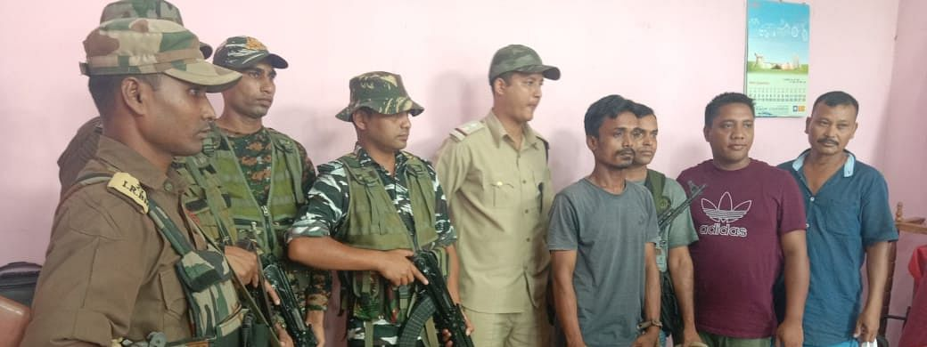 The arrested DNLA cadre has been identified as 23-year old Surajit Das.