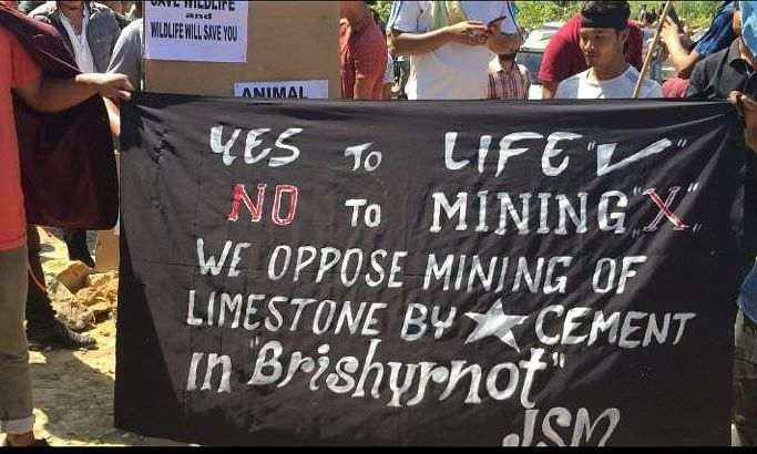 Meghalaya locals say 'no' to mining lease extension to cement firm