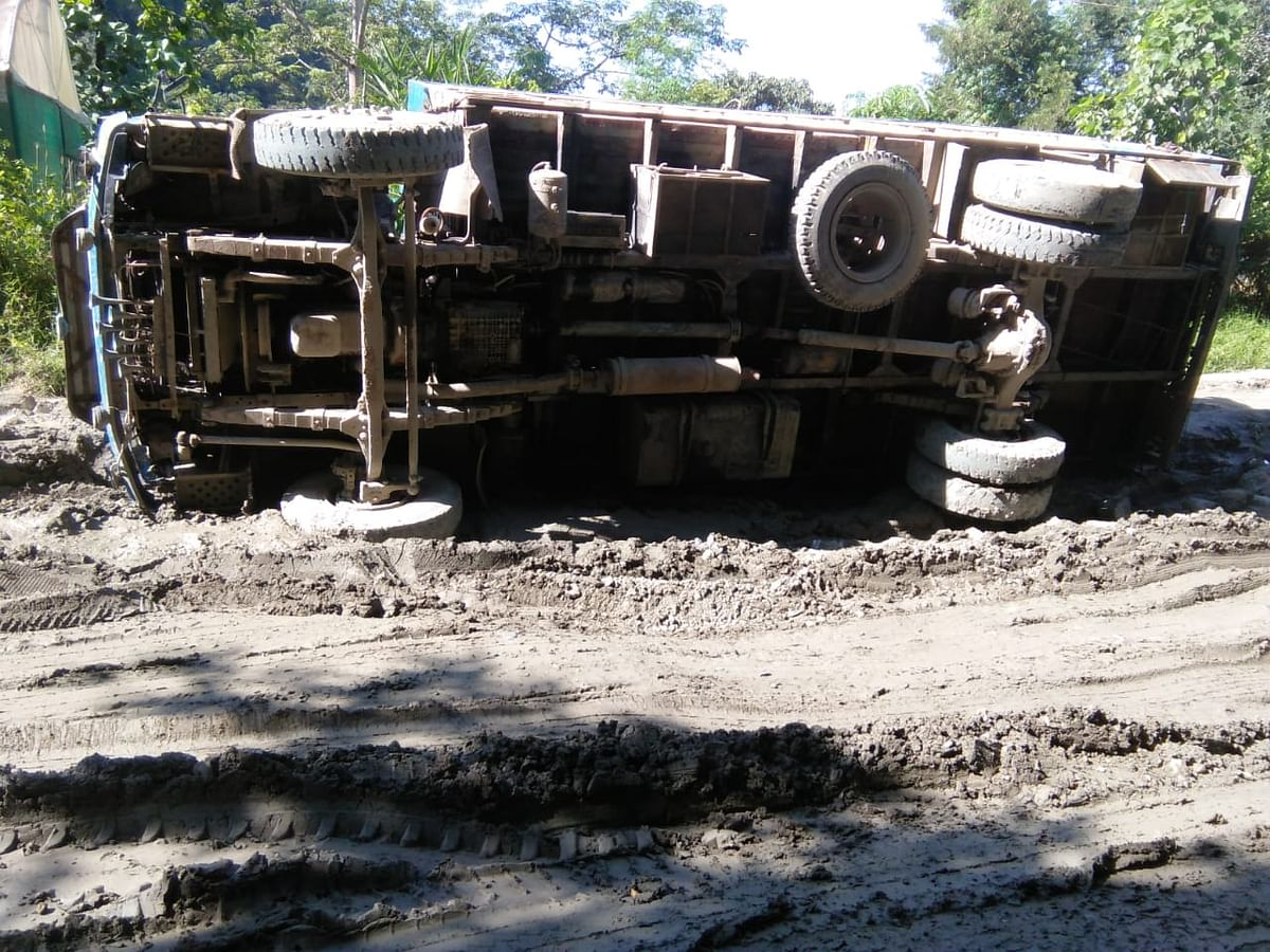 No maintenance works have been taken up on NH 54