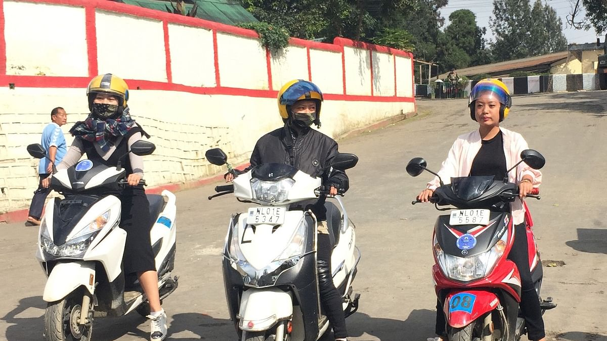 Women get a fair deal in Nagaland, inducted as two-wheeler cabbies