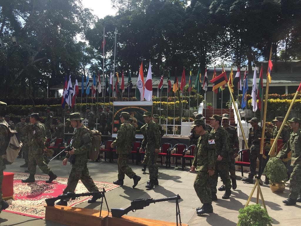 Indo-Japan joint military exercise concludes in Mizoram