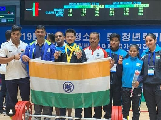 Mizo youth wins gold at Asian Youth & Junior Weightlifting C'ship
