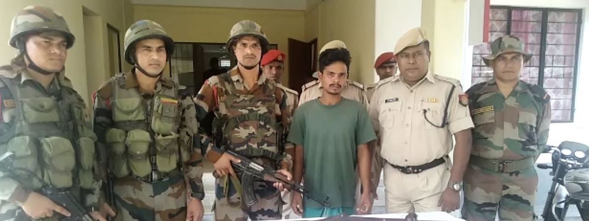 The arrested NDFB(S) linkman identified hails from Dwimuguri village of Chirang district in Assam
