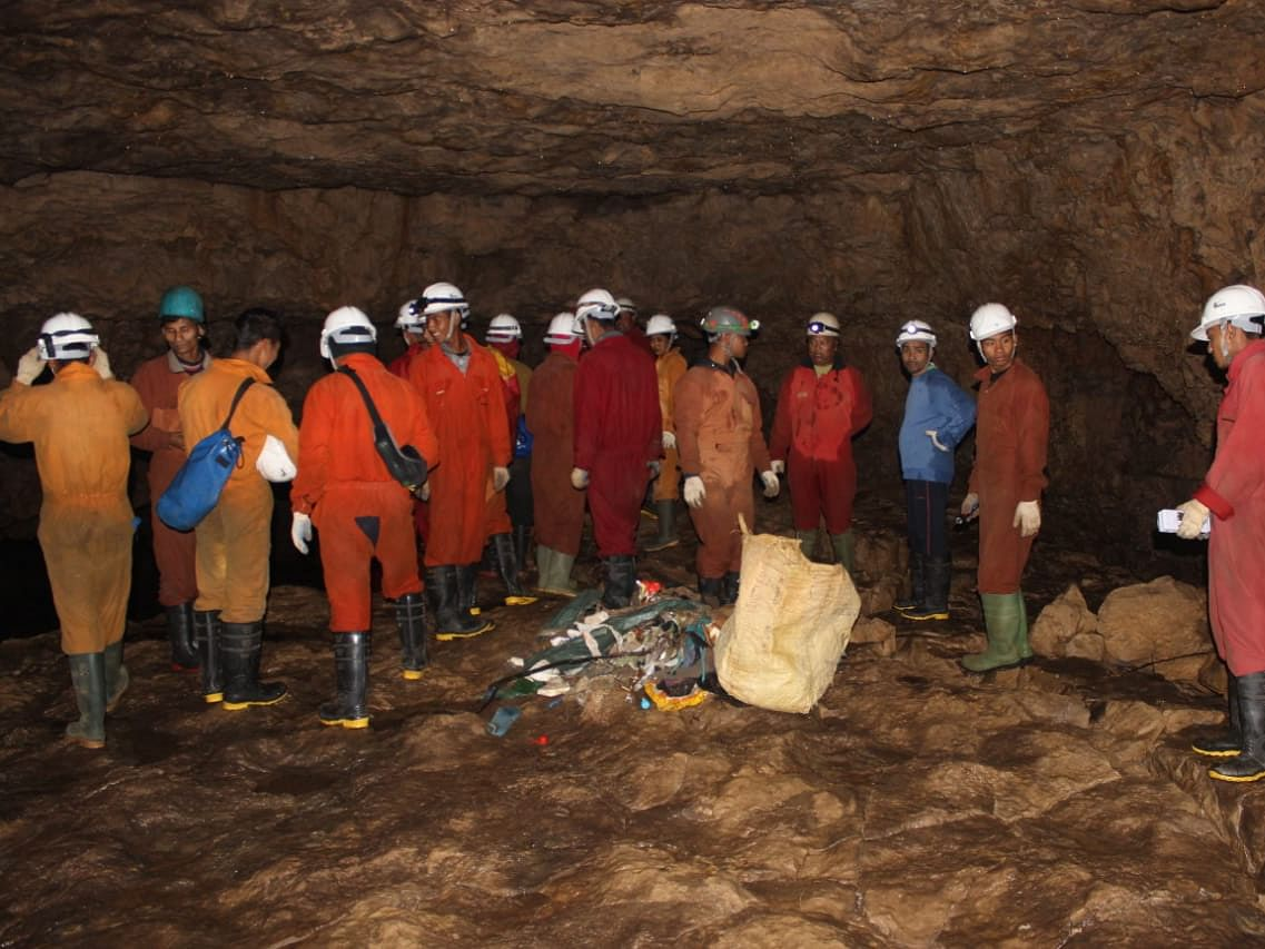 How a Meghalaya cave became part of nationwide  cleanliness drive