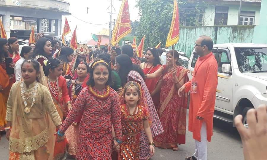 Sikkim: Dashain celebration officially starts with Phulpati Yatra