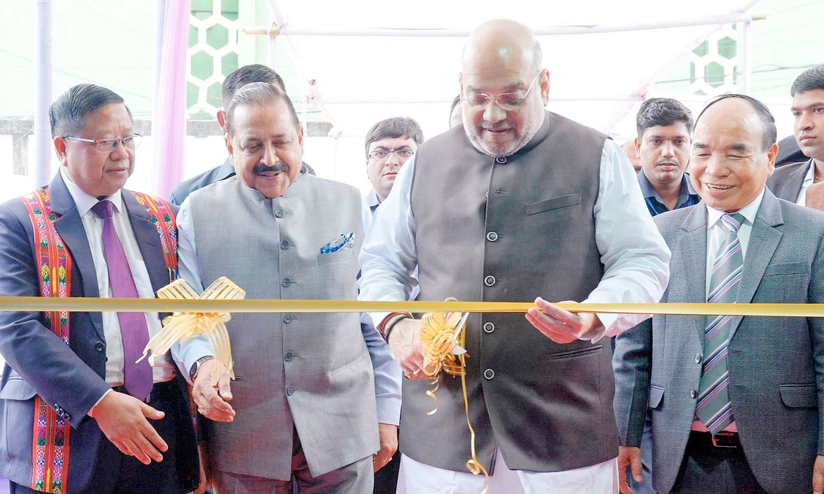 Mizoram to get broad gauge line by 2021, says Amit Shah in Aizawl
