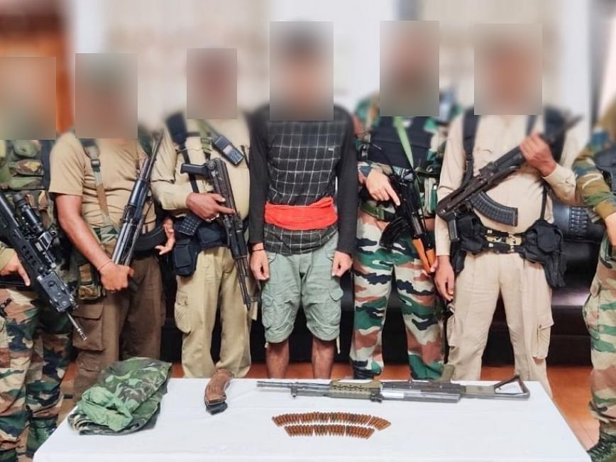 Hardcore ULFA(I) rebel nabbed with arms, ammunition in upper Assam