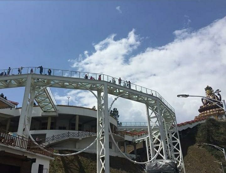 Another view of the Sikkim Skywalk