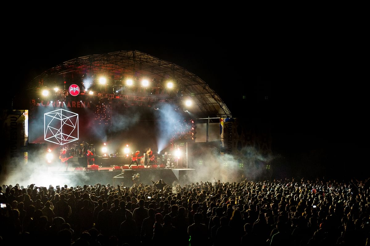 The last day of NH7 Weekender saw a packed crowd in Meghalaya's Jaintia Hils on Saturday