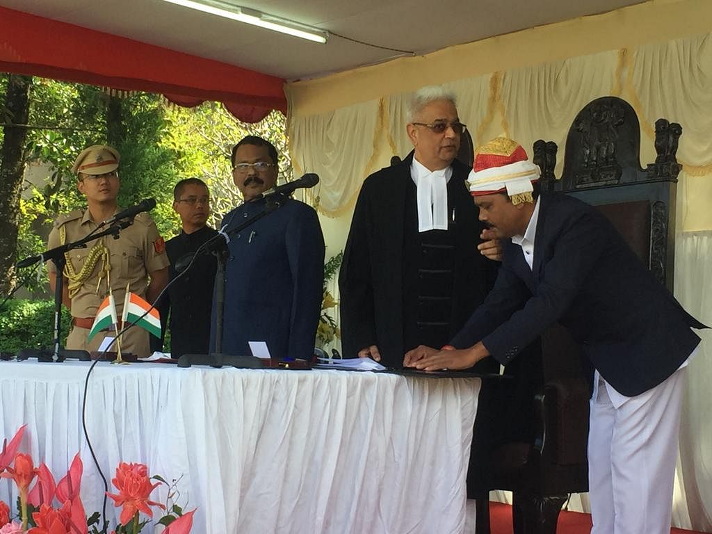 PS Sreedharan Pillai sworn in as the 21st governor of Mizoram