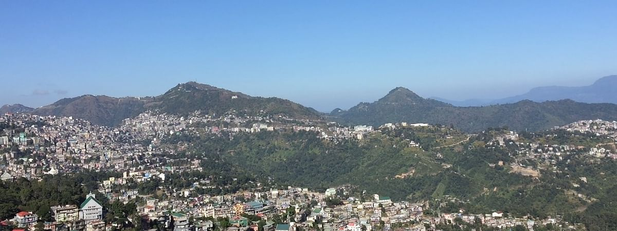 Aizawl, the state capital of Mizoram
