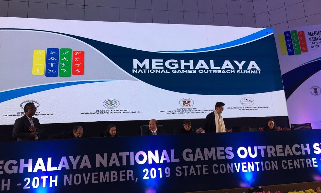 Meghalaya National Games Outreach Summit held in Shillong