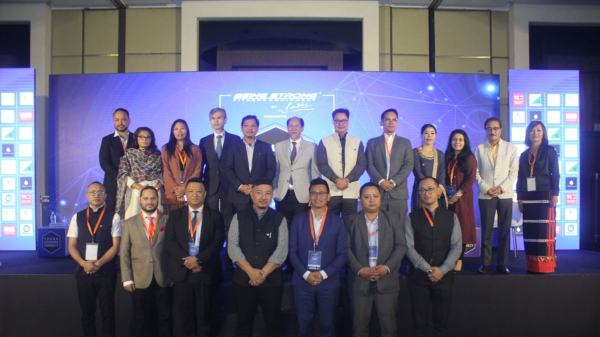 Dignitaries and members of Leaders Connect during 7th YLC in New Delhi