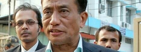 UNLF leader Rajkumar Meghen was released from Guwahati Central Jail on Saturday