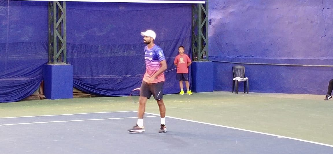 Vishnu Vardhan was also part of the Indian squad in the 2016 Davis Cup