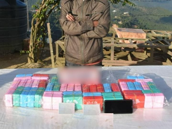 Manipur: Drugs worth over Rs 2 crore seized in Tengnoupal district