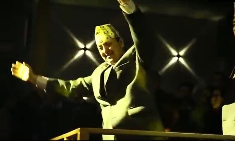 WATCH: Former Nepal king Gyanendra Shah shakes a leg in nightclub