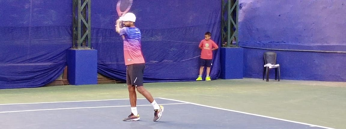 Vishnu Vardhan first came into the national limelight when he won his first sub-junior open nationals in 2001