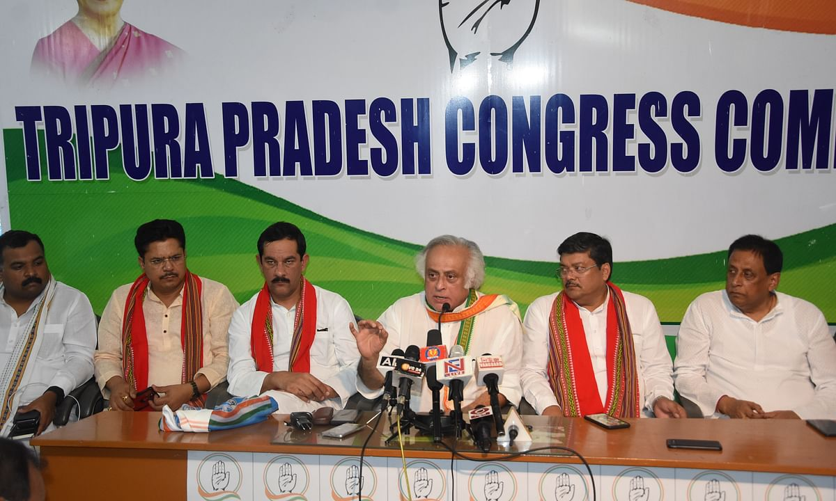 Cong will fight tooth & nail over CAB: Jairam Ramesh in Tripura