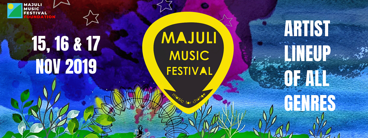 The line-up at Majuli Music Festival 2019 will comprise independent artistes, bands and labels that believe in producing 'Music for Change'